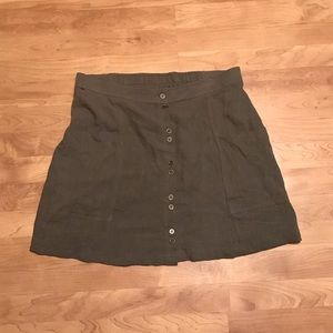 Universal Thread Skirts - Army Green Skirt